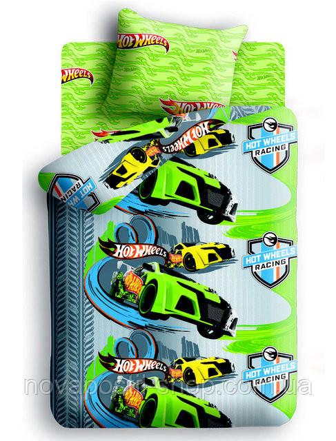 Комплект постельного белья Hot Wheels подростковый