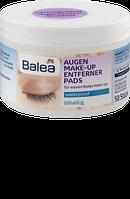 Balea Augen Make-up Entferner Pads ölhaltig - Подушечки для снятия макияжа с глаз, с маслами, 50 шт.