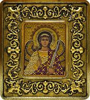 Набор с рамкой для вышивания бисером икона Ангел Хранитель INS 701104