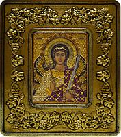 Набор с рамкой для вышивания бисером икона Ангел Хранитель INS 701204
