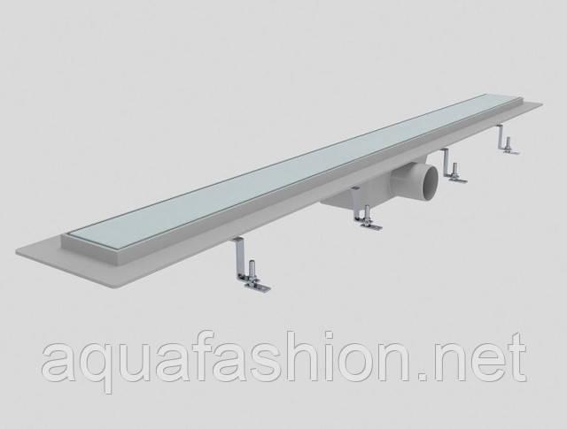 душевой канал со стеклянной решеткой styron венгрия