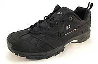 Кроссовки мужские BONA  кожаные, черные (Бона)(р.42,43,44,45,46)