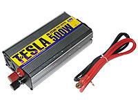 Преобразователь напряжения 12V-220V 500W модиф. волна/USB-5VDC0.5A/прикуриватель/клеммы Преобразователи напряжения
