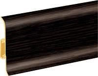 Плинтус ПВХ Premium Cezar Wenge темний Матовий Артикул: W-PC-PR-M200-250