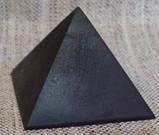 Пирамида шунгитовая 8*8 шунгитовый гармонизатор, шунгит камень, камень натуральный, фото 2