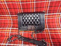 Женская сумка клатч Chanel Boy (маленькая)