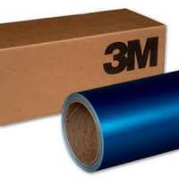 Глянцевая синяя пленка металлик 3M 1080 Gloss Blue Metallic