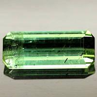 1.76 кт Природный зеленый турмалин Нигерии 12х5