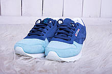Кроссовки женские Reebok Classic Blue топ реплика, фото 2