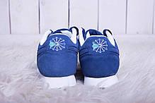 Кроссовки женские Reebok Classic Blue топ реплика, фото 3