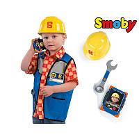 Жилет со шлемом Боба Строителя SMOBY