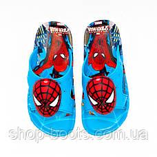 Детские шлепанцы с игрушкой оптом Gipanis  25-32рр. Модель Spider men, фото 2