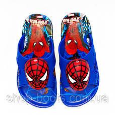 Детские шлепанцы с игрушкой оптом Gipanis  25-32рр. Модель Spider men, фото 3