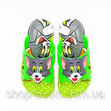 Детские шлепанцы с игрушкой оптом Gipanis  25-32рр. Модель Том и Джери, фото 3