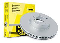 Диск тормозной передний VW Caddy III диам. 288 мм 2004-->2010 Textar (Германия) 92120805