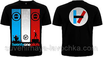 Рок футболка 21 Pilots