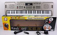 Пианино синтезатор MQ-816 + USB + микрофон