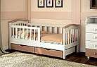 Подростковая кровать с бортиками Конфетти дерево, фото 7