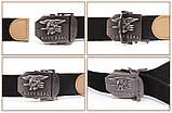 Тактичний пояс «Navy Seal» 110 см коричневий, фото 3