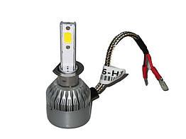Светодиодные LED лампы H3 PULSO С6/LED PK22S/2*280°COB/12-24v36w/3800Lm/4300K Автомобильные лампы автолампы для автомобилей