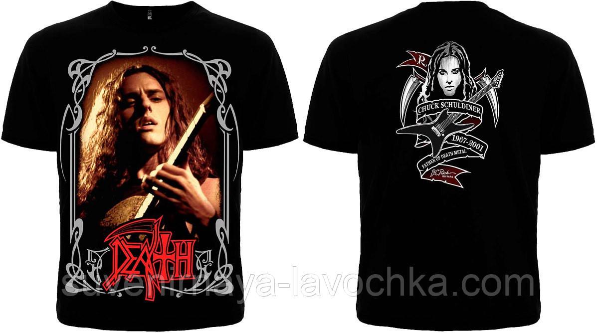 Рок футболка Death Chuck