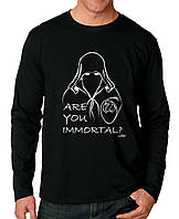 Are You Immortal? - Футболка Мужская с длинным рукавом (лонгслив) с Дизайном