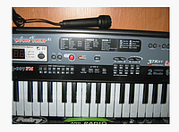 Пианино-синтезатор с микрофоном и радио MQ 007 FM