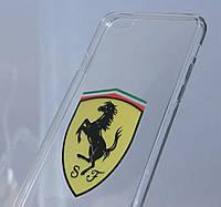 Чехлы для iPhone 6 Plus/6S Plus Ferrari силиконовые