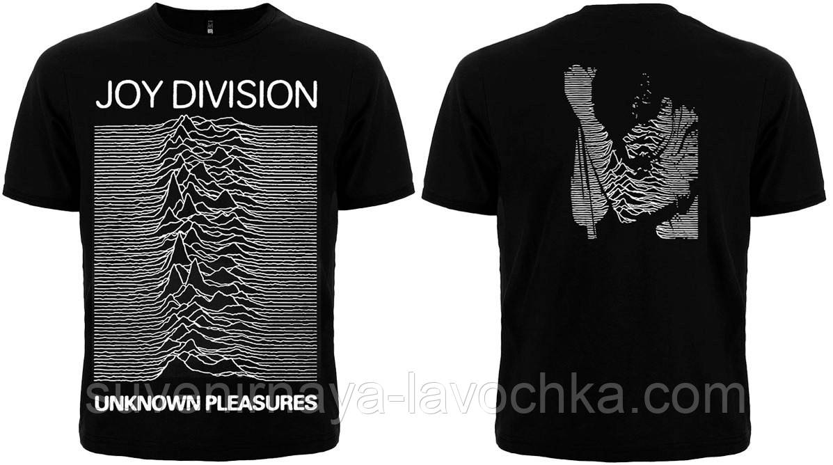 """Рок футболка Joy Division """"Unknown Pleasures"""""""
