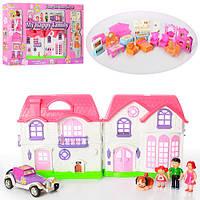 Дом для кукол с фигурками 8031, музыка, свет