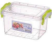 Контейнер пищевой Al-plastik Lux №2 (0,8 л, с ручками)
