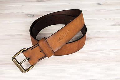 Ремень коричневый из натуральной кожи Knockwood - Pierrepoint, Brown