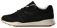 Мужские кроссовки Reebok Ventilator Black (Рибок Вентилятор) черные