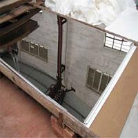 Лист технический зеркальный  AISI 430  1,0х1000х2000 м 2B+PVC листы н/ж стали, нержавейка. Доставка. ё