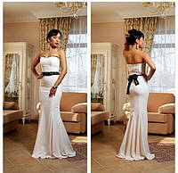 Красивое изумительное платье в пол верх лиф  без бретель