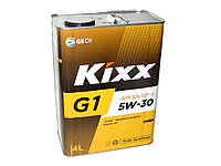 Масло моторное синтетика KIXX G1 5W-30 4л SN/GF-5