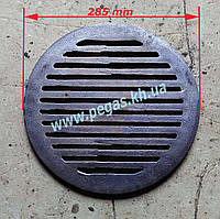 Решетка гриль чугунная для барбекю (круглая), фото 1