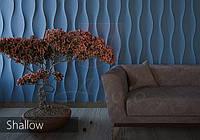 3д панели для стен Гипсовые Alivio серии Shallow