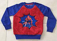 Джемпер для Мальчика Человек Паук Синий  Рост 92-98 см
