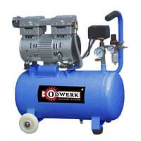 Компрессор Odwerk TOF-7524 безмасляный (0,75 кВт, 165 л/мин, 25 л)