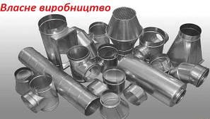 Круглые воздуховоды и фасонные изделия из оцинкованной стали