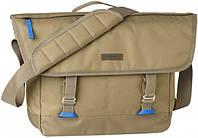 Шикарная наплечная сумка-мессенджер, JBF23624;308, бежевая, 10 л.
