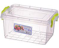 Контейнер пищевой Al-plastik Lux №4 (1,5 л, с ручками)