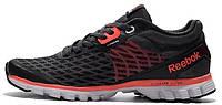 Мужские кроссовки Reebok Sublite Men's Running Shoes Black/Red (Рибок) черные/красные