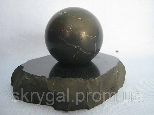Шунгитовые шары здоровья. диаметр D-40 мм.- за 1 шт.