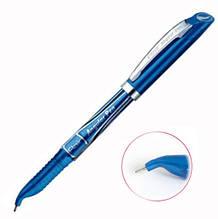 Ручка для левшей масляная Flair Angular синяя