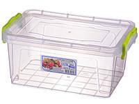Контейнер пищевой Al-plastik Lux №5 (2,8 л, с ручками)