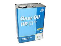Масло редукторное KIXX Gear Oil HD 75W-85 4л GL-4