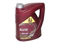 Масло моторное MANNOL Elite синтетика 5w40 3+1L SN/CF