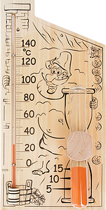 "Термометр ""Банная станция"""